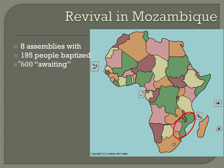 Revival in Mozambique