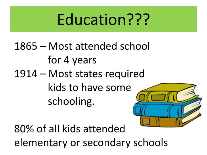Education???