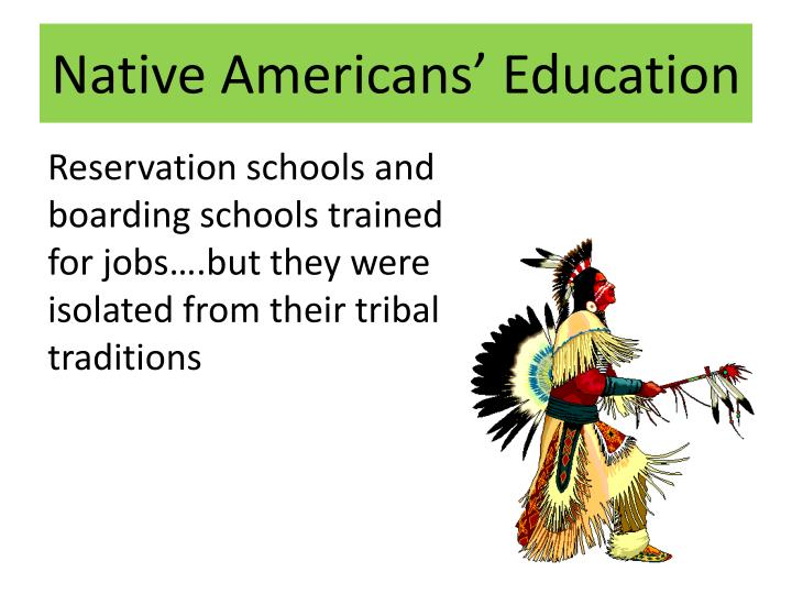 Native Americans' Education