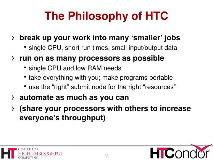 The Philosophy of HTC