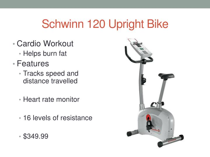 Schwinn 120 upright bike