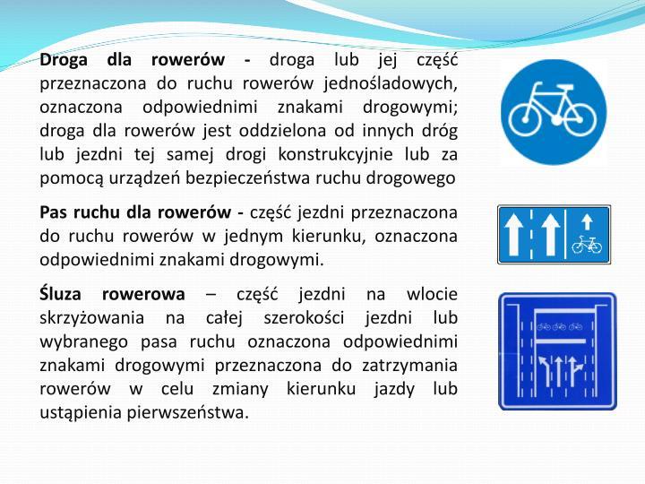 Droga dla rowerów -