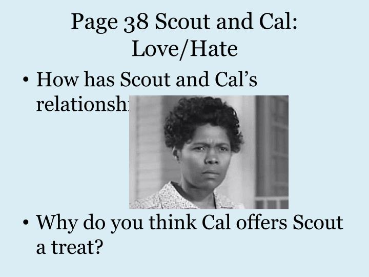 Page 38 Scout and Cal: Love/Hate