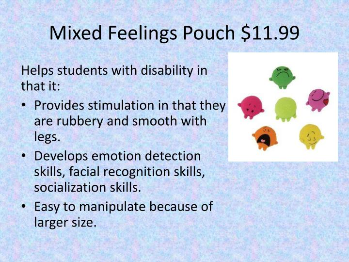 Mixed Feelings Pouch $11.99