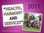 health harmony and service