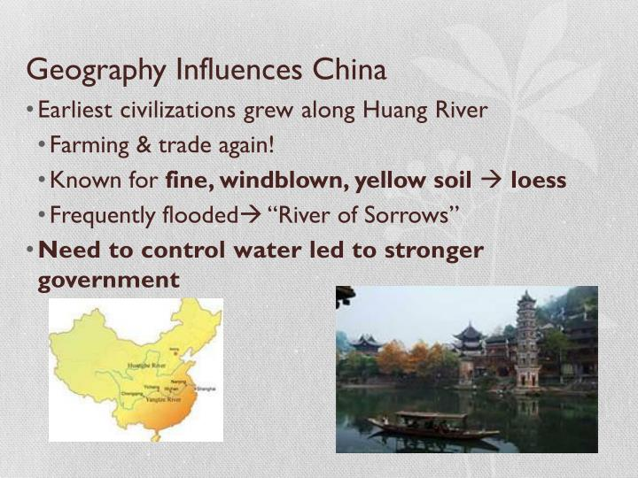 Geography Influences China