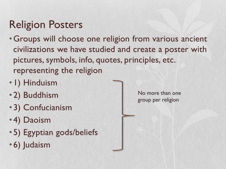 Religion Posters