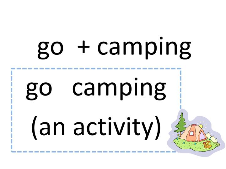 go  + camping
