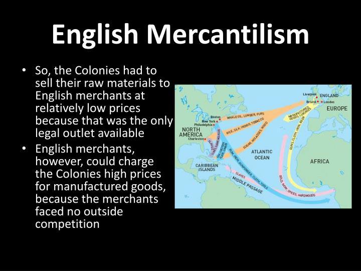 English Mercantilism