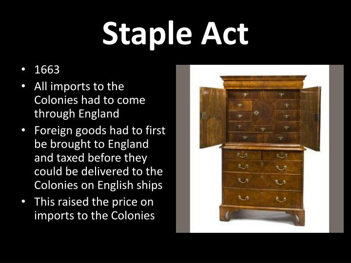 Staple Act