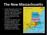 the new massachusetts1