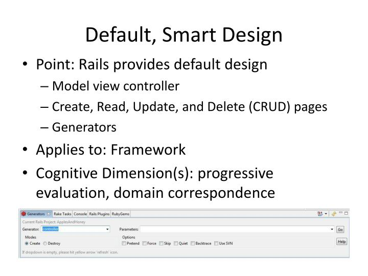 Default, Smart Design