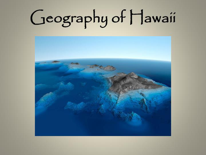 Geography of Hawaii