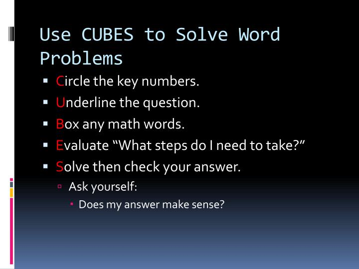 math word problems solver