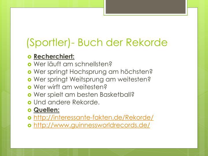 (Sportler)-