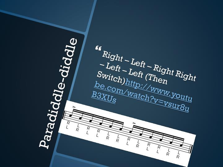 Right – Left – Right Right – Left – Left (Then Switch)