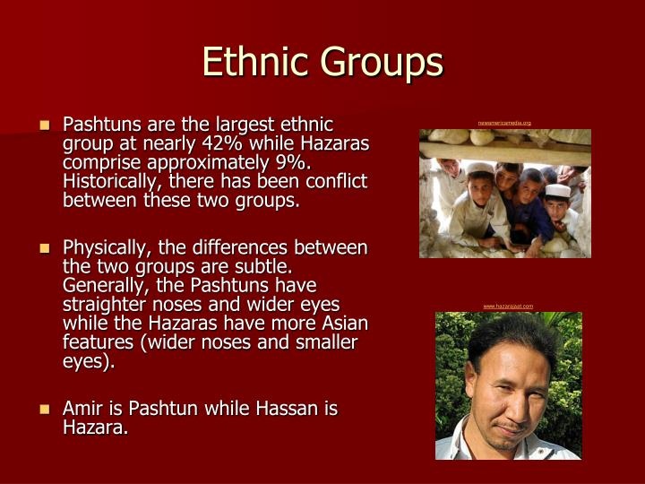 Ethnic Groups