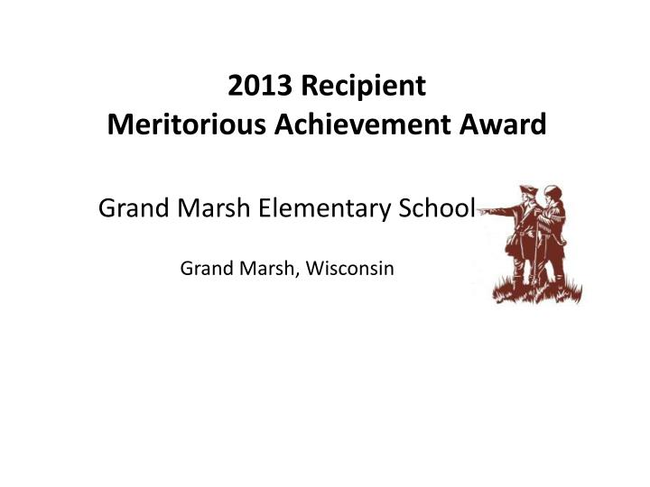 Grand Marsh Elementary