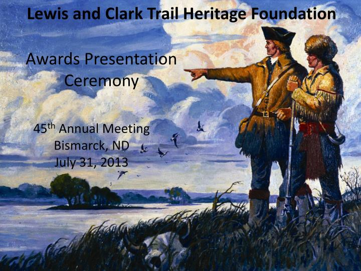 Lewis and Clark Trail Heritage Foundation