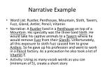 narrative example
