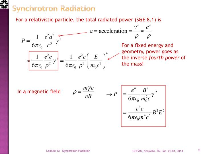 Synchrotron radiation1