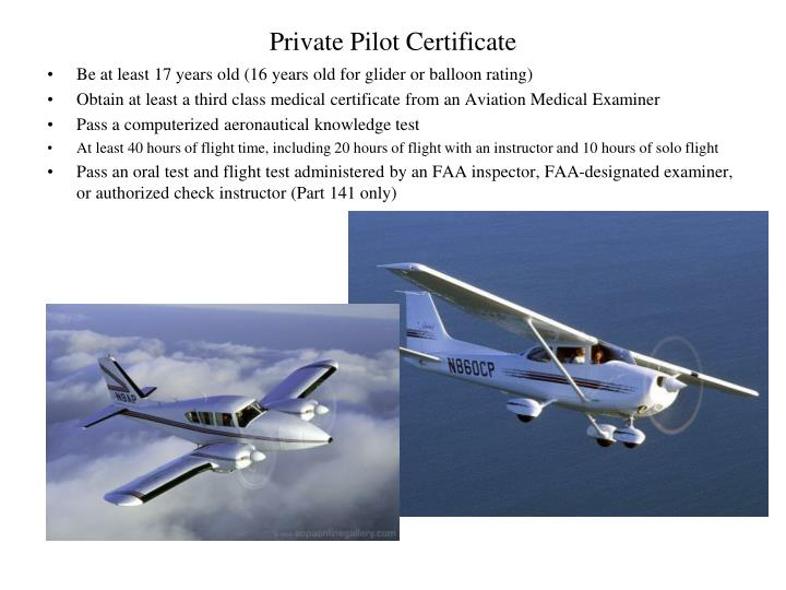 Private Pilot Certificate Pictures To Pin On Pinterest