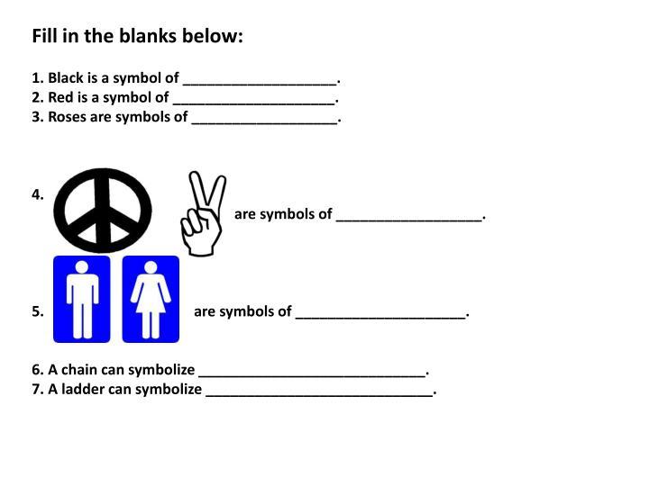 Fill in the blanks below:
