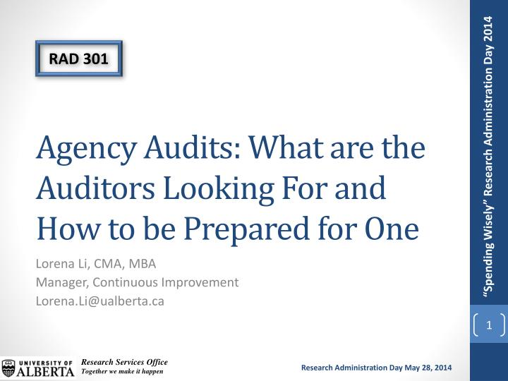 Agency audits what are the auditors looking for and how to be prepared for one