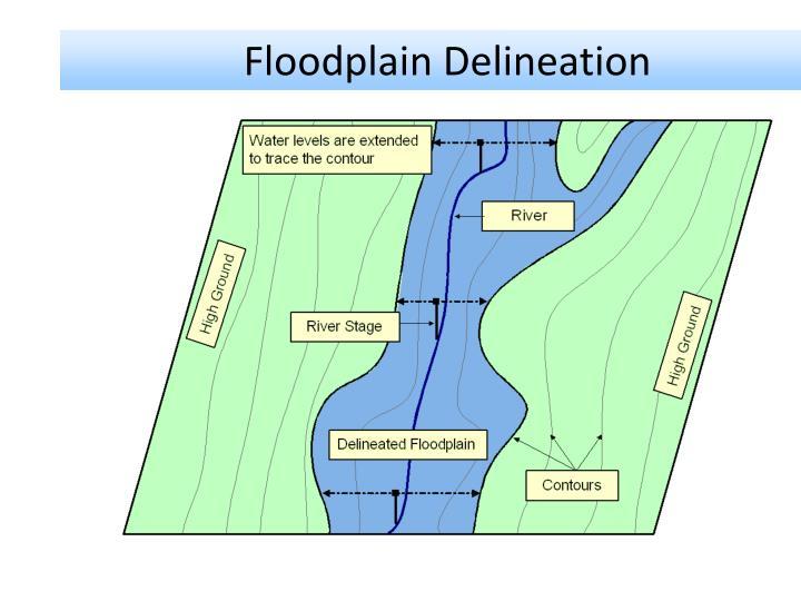 Floodplain Delineation