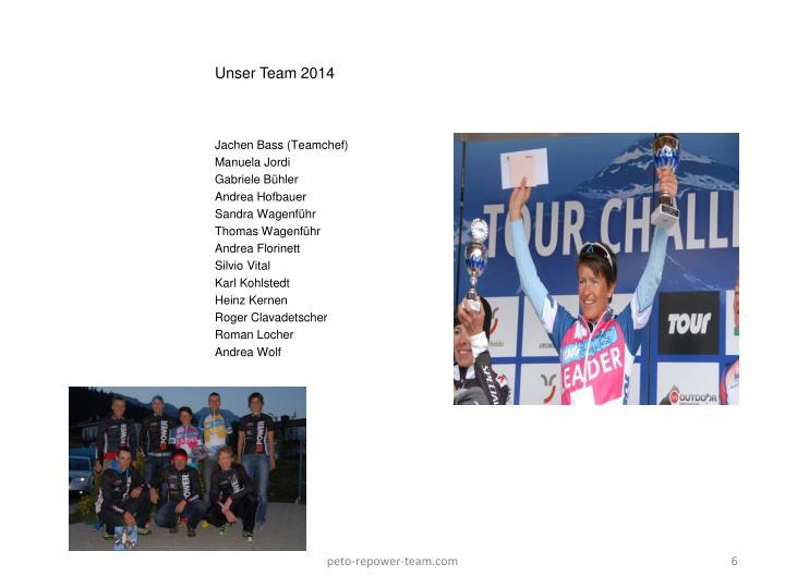 Unser Team 2014