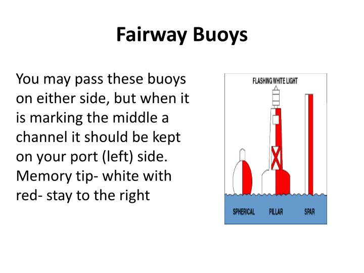 Fairway Buoys