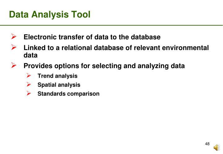 Data Analysis Tool