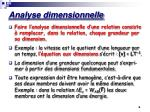 analyse dimensionnelle1