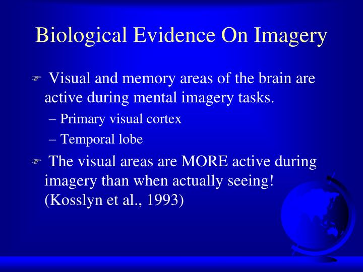 Biological Evidence On Imagery