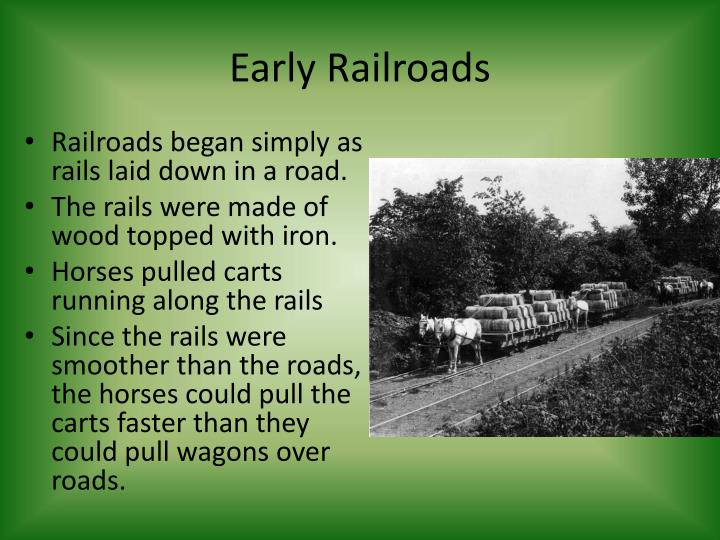 Early Railroads