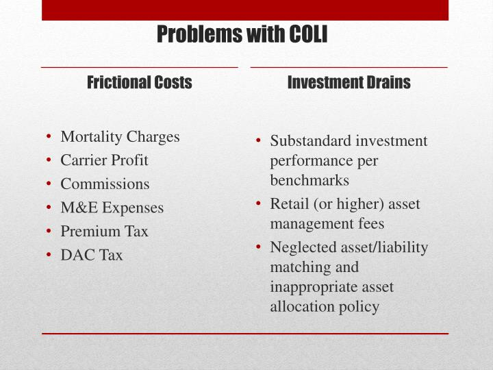 Frictional Costs