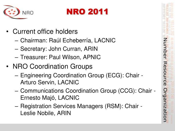 NRO 2011