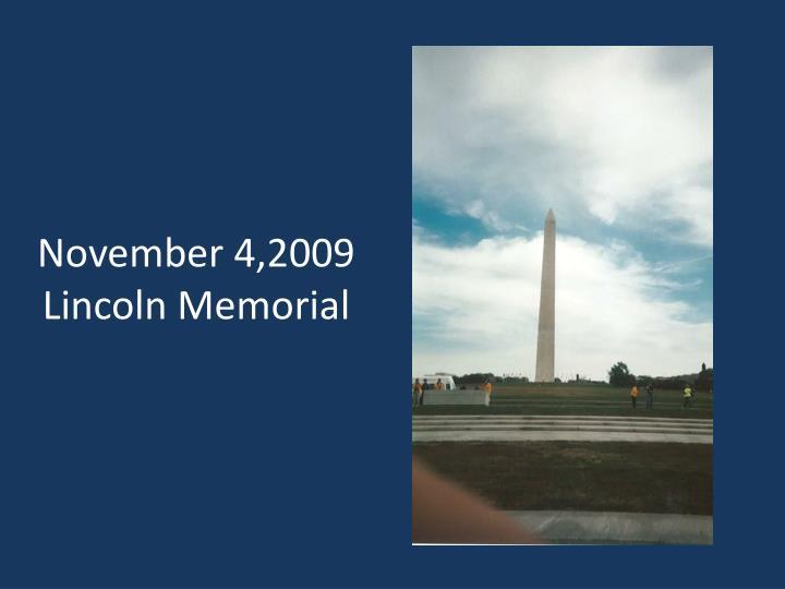 November 4,2009
