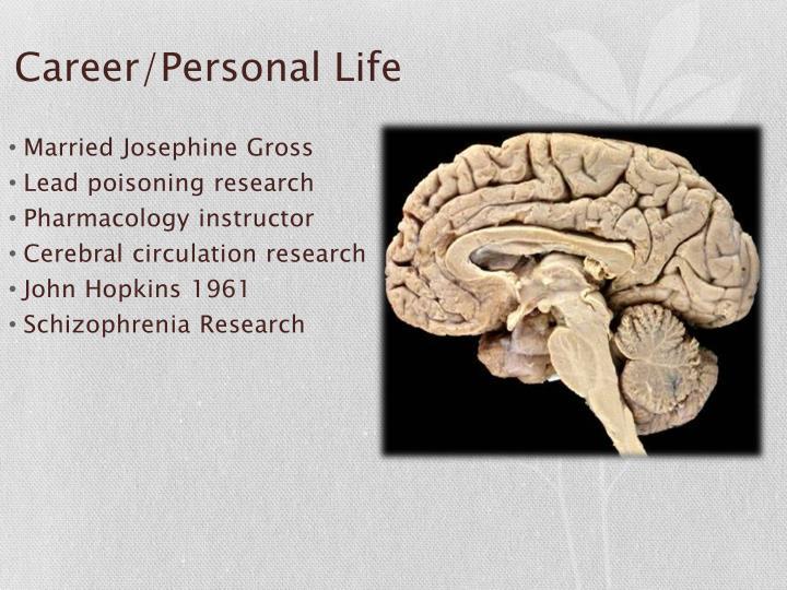 Career/Personal Life