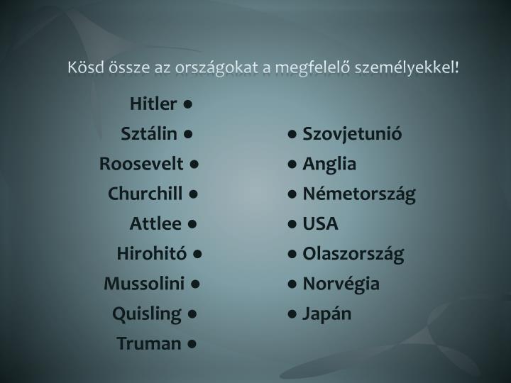 Hitler ●