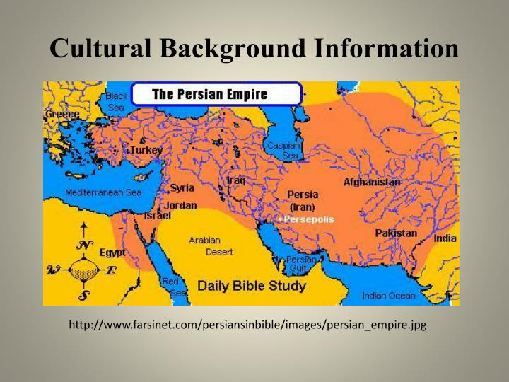 Cultural background information