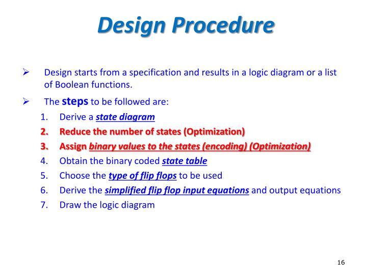 Design Procedure
