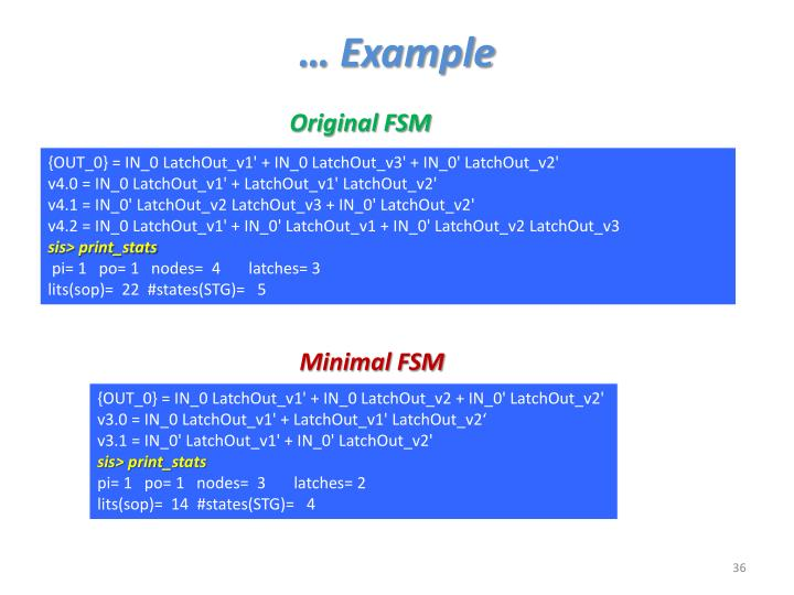… Example