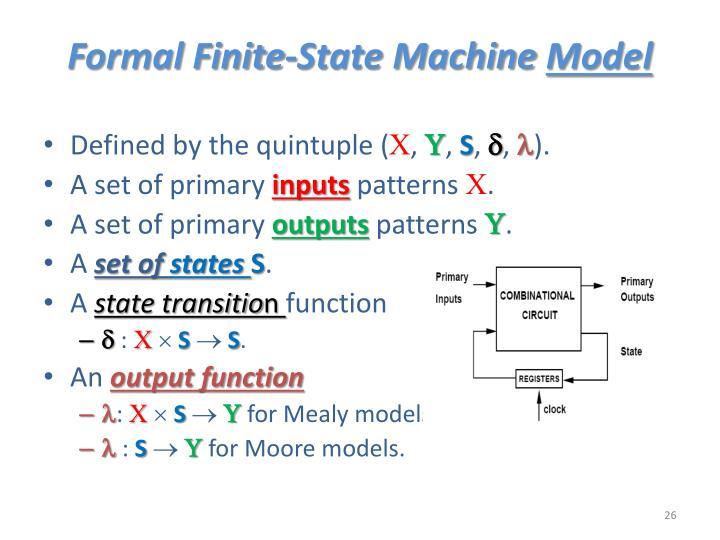 Formal Finite-State Machine