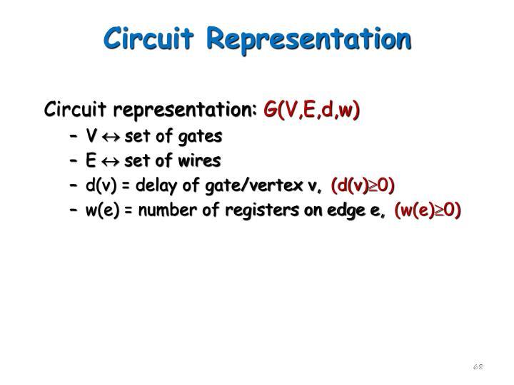 Circuit Representation