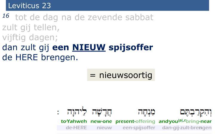 Leviticus 23