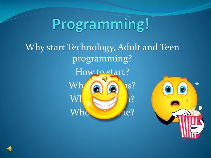 Programming!