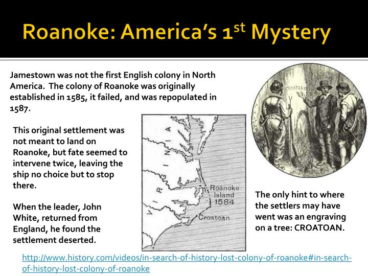 Roanoke: America's 1