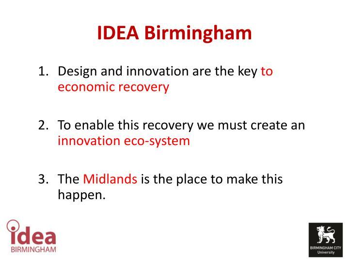 IDEA Birmingham