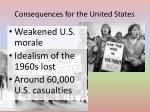 consequences for the united states